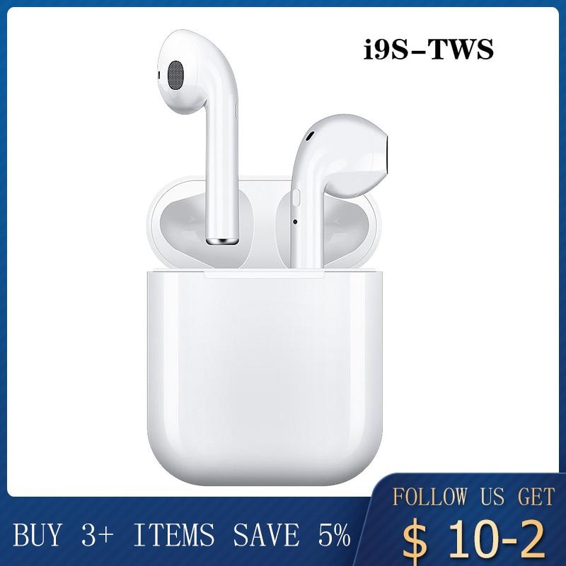 I9s I12s Tws Earphone Wireless Bluetooth 5.0 Earphone Mini Earbuds With Mic Charging Box Sport Headset For Smart Phone