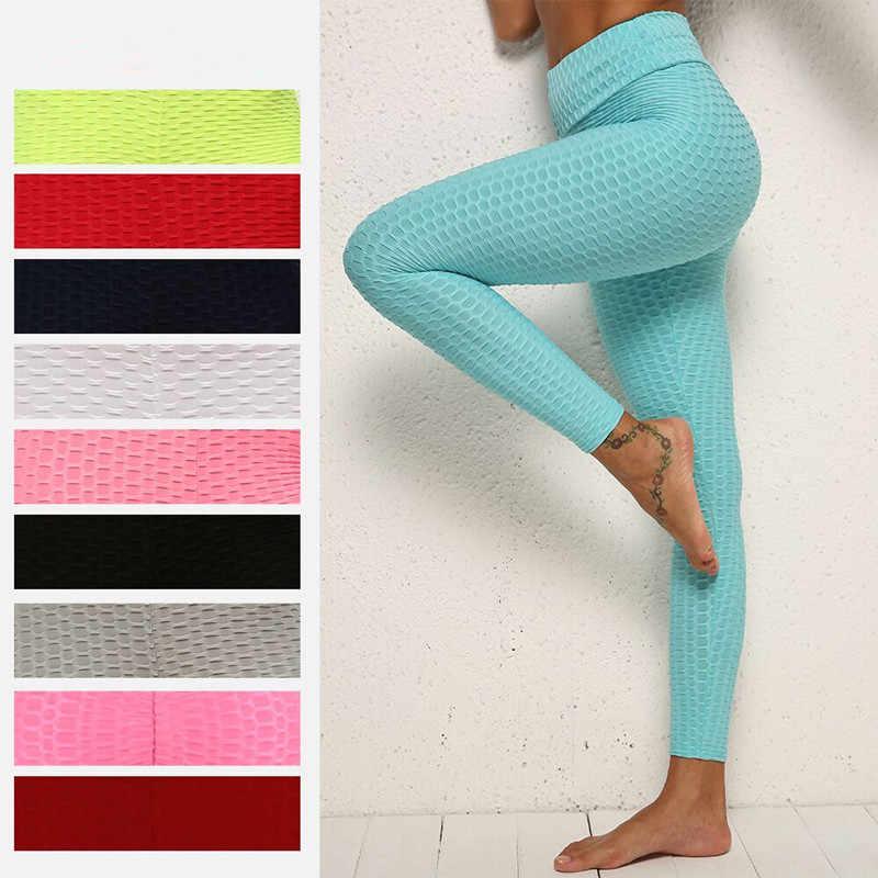 Mallas Deportivas Anticelulitis Para Mujer Pantalones Elasticos De Yoga Realce De Gluteos Para Gimnasio Pantalones De Yoga Aliexpress