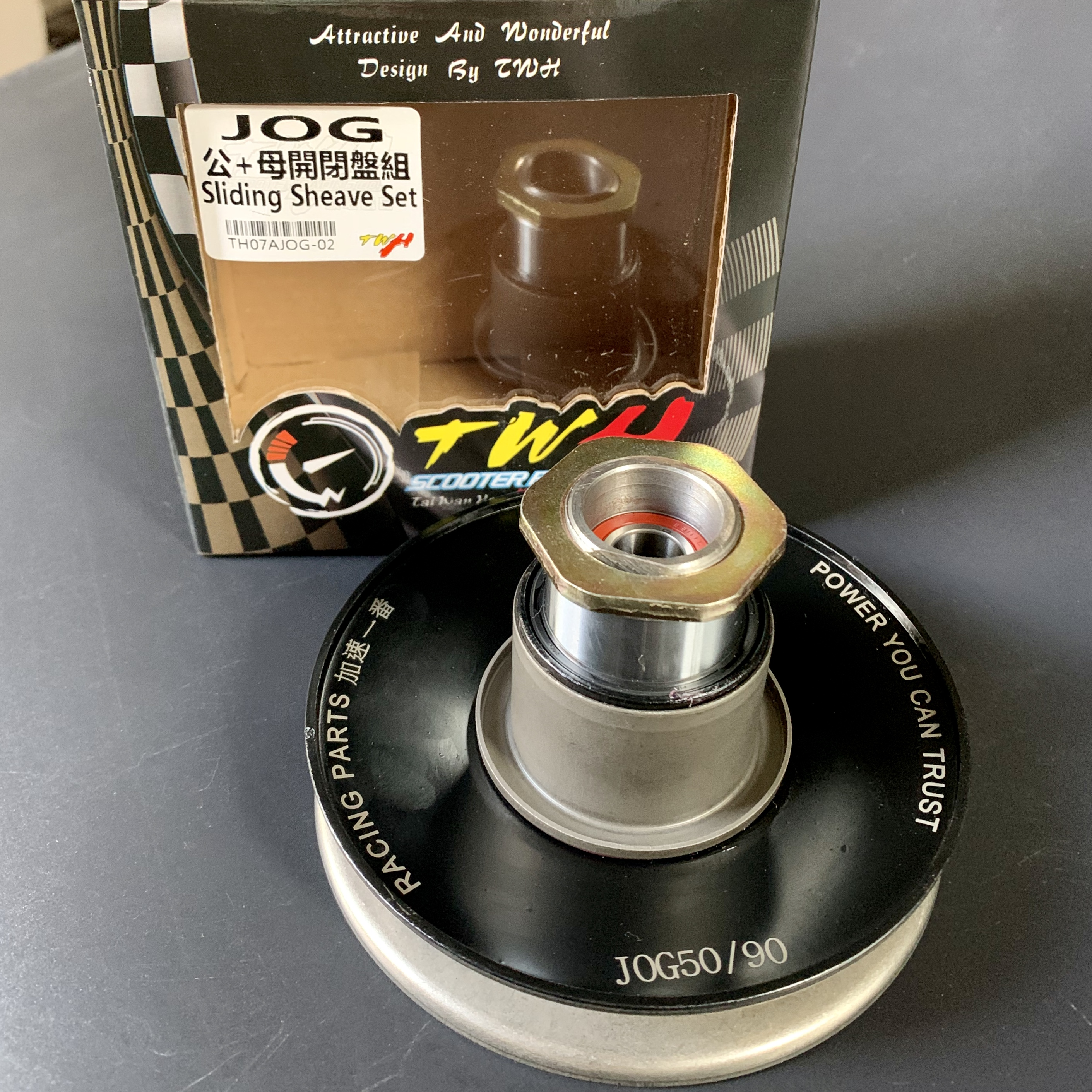 Torque driver JOG50 JOG100 MIO115 BWS100 RS100 AXIS100 sport pulleys sliding sheave racing tuning parts jog bws 50 <font><b>90</b></font> 100 image