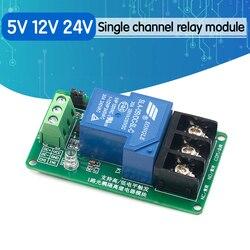 Один 1-канальный релейный модуль 30 А с изоляцией оптрона 5 В, 12 В, 24 В, поддерживает триггер высоких и низких частот