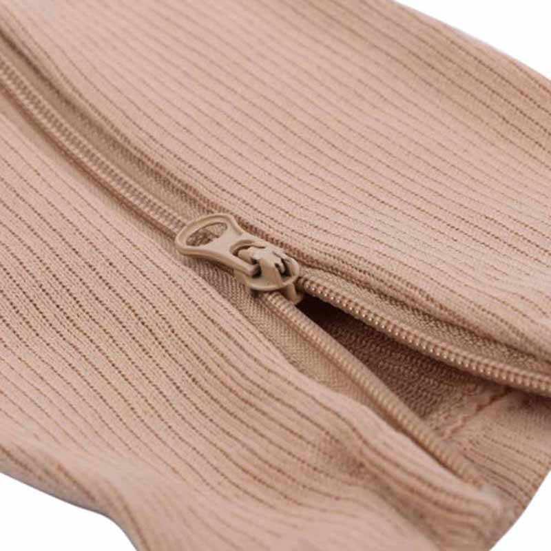 Mannen/Vrouwen Soft Zip Sokken Anti-Vermoeidheid Compressie Sokken Been Ondersteuning Medische Sokken Unisex Comfortabele Relief