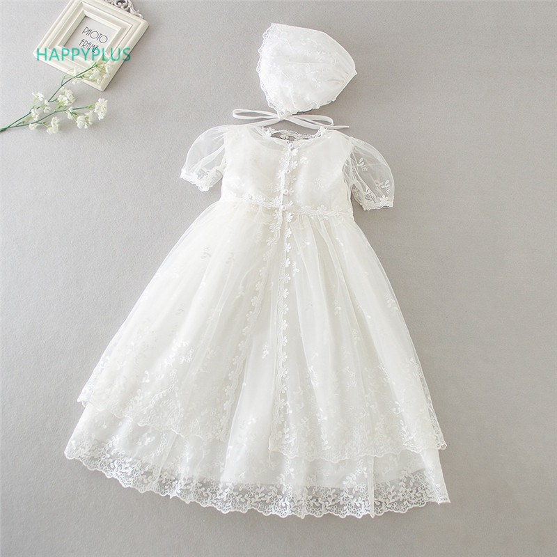 Hyplus Vintage Christening Dress For