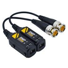 1 пара, HD 8MP BNC Видео Balun Разъем, поддержка HD AHD/CVI/TVI камера, канал сигнала