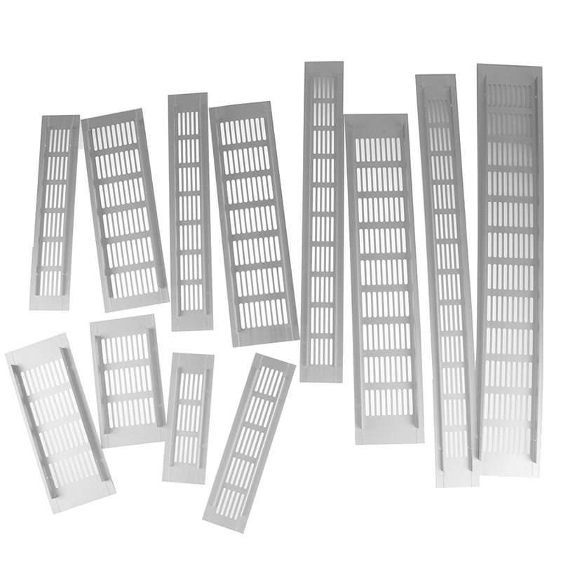 Aluminum Alloy Vents Perforated Sheet Air Vent Perforated Sheet Web Plate Ventilation Grille Vents Perforated Sheet