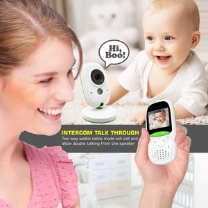 Image 5 - Neng Không Dây Video Trẻ Em Màu Camera An Ninh 2 Cách Thảo Luận Giám Sát Nhiệt Độ Lullaby Bộ Đàm Giữ Trẻ