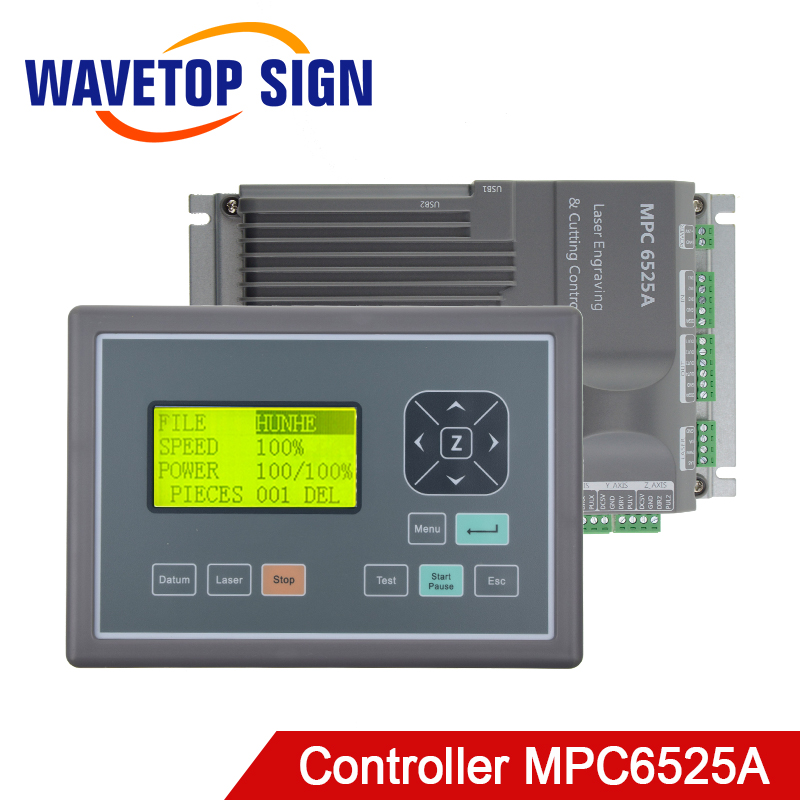 Leetro MPC6525A Co2 Laser Controller System For Laser Engraving And Cutting Machine