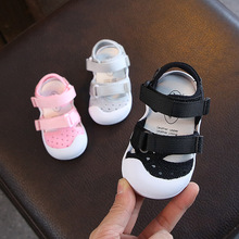 2019 Summer Infant Toddler Shoes Baby Girls Boys Casual Shoes Non Slip Breathable High Quality Kids Anti collision Shoes