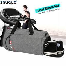 Fashion Large Sports Bag Womens Dry Wet Travel Gymtas Sac De Sport Brand Swim Sport Bag Men For Gym Outdoor Training Fitness Bag