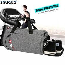Moda büyük spor çanta bayan kuru islak seyahat Gymtas Sac De spor marka yüzmek spor çantası erkekler için spor salonu açık eğitim spor çantası