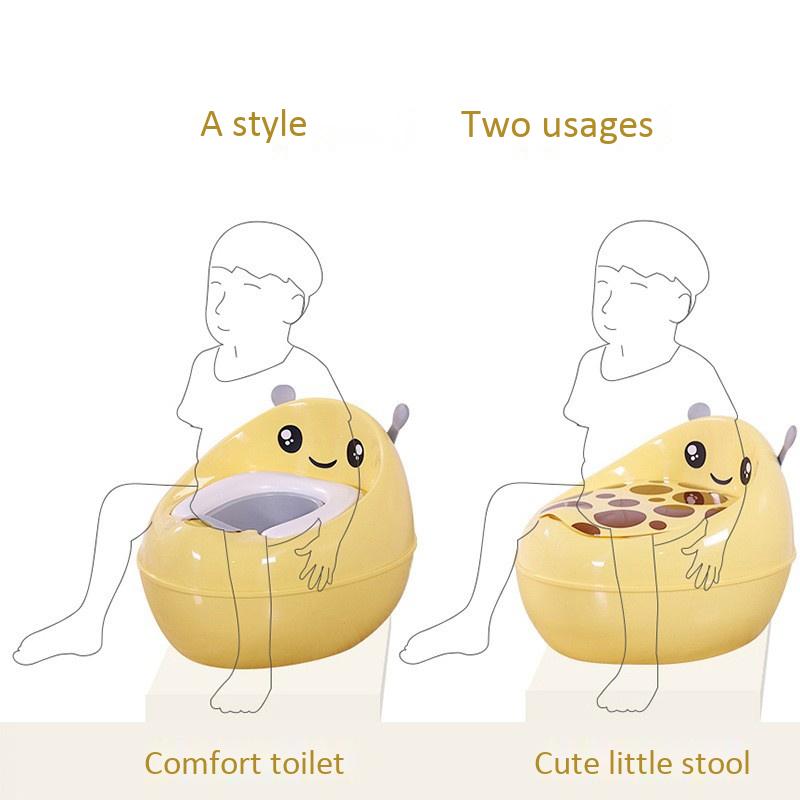 crianças portátil mictório confortável treinamento potty toalete