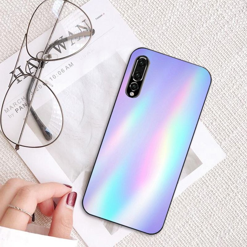 Crystal Diamond Aesthetic Art Pastel Phone Case For Huawei P40 P30 P20pro P20lite P30lite Psmart P10 9Lite