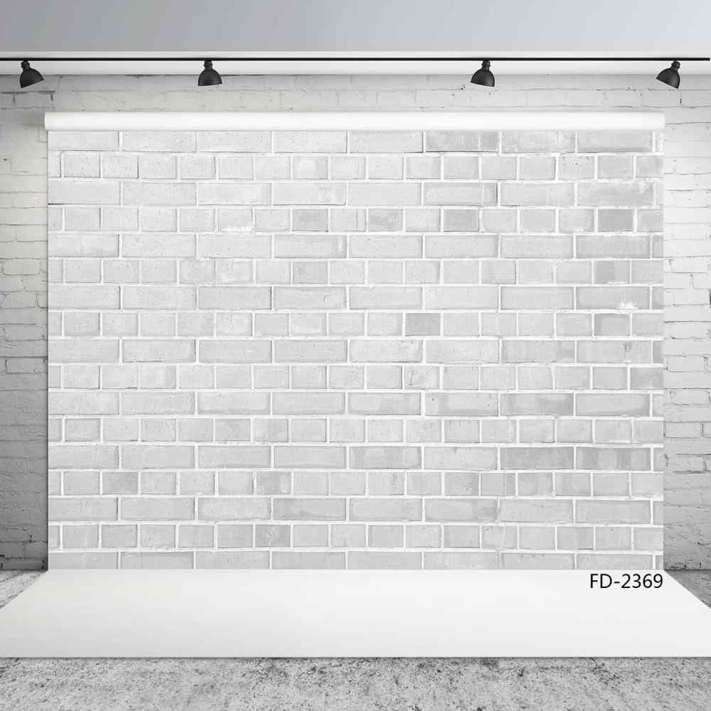 Brick Wall Backdrop White Gray Wall Scenery Photocall Newborn Baby Young Portrait Photography Background Custom For Photo Studio Background Aliexpress