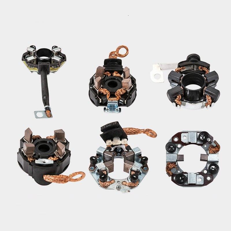 Car Starter Motor Carbon Brush Holder Start Idle Wear-resistant Parts Wearing Parts For Audi VW BMW Toyota Honda Hyundai