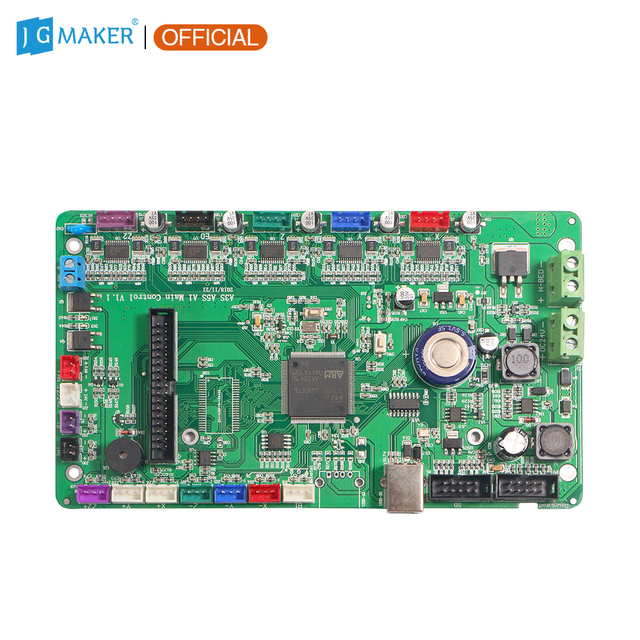 JGMAKER A5S A1 A3S 3D Printer Mother Board Motherboard Main Controller Board Self Developed Firmware with 4 pcs A5984 Drive
