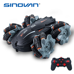 Sinovan RC Toys 4wd 2.4G Drift Remote Control Car 360° Rotating Off-road Vehicle Stunt RC Car Rechargeable RC Toys for Children