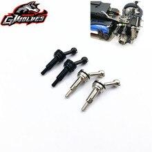 1 par de metal dianteiro ou traseiro cvd transmissão do eixo comum universal para 1/28 wltoys k969 k979 k989 k999 p929 p939 rc atualizar peças