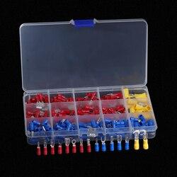 Набор изолированных обжимных проводов, 280 шт., красный, синий, желтый