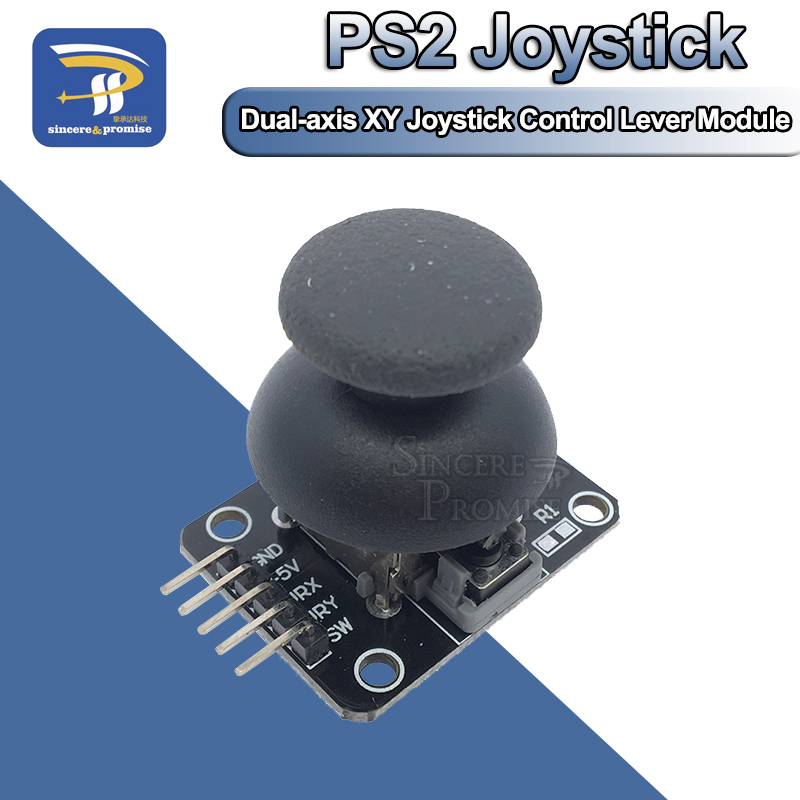5PCS Dual-axis XY Joystick Module Game Rocker Lever Sensor Module