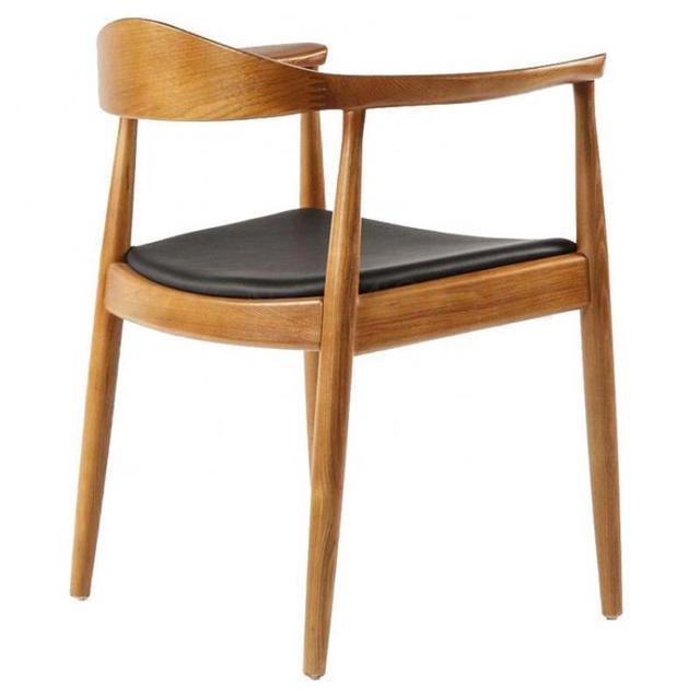 Wooden Chair w/ Backrest 1