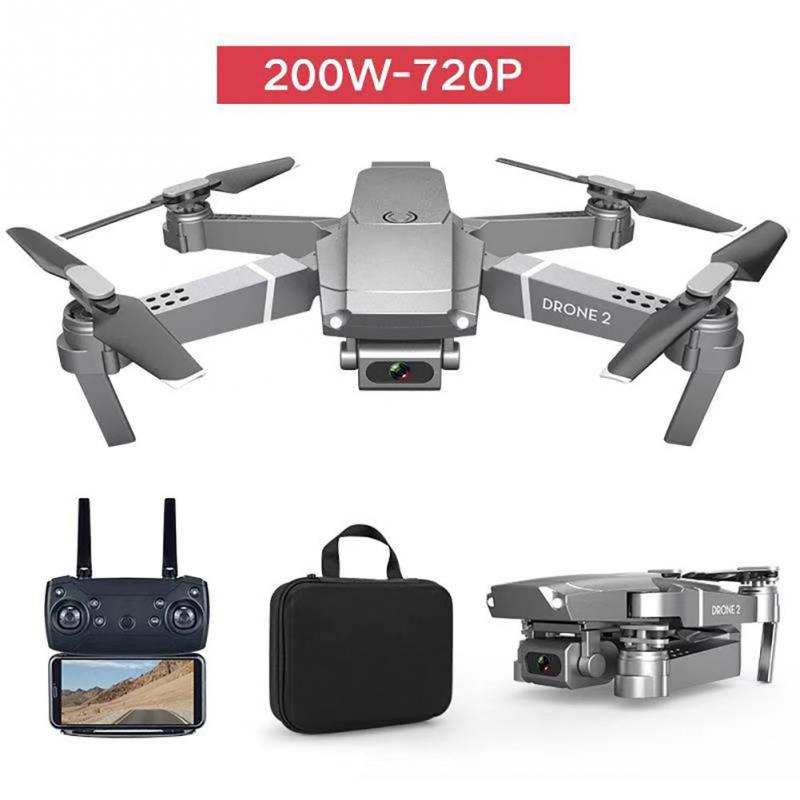 E68 Folding Quadcopter  Altitude Hold Multifunctional RC Drone Rechargeable Plastic Video Wide Angle 2 4GHz HD Camera WIFI FPV
