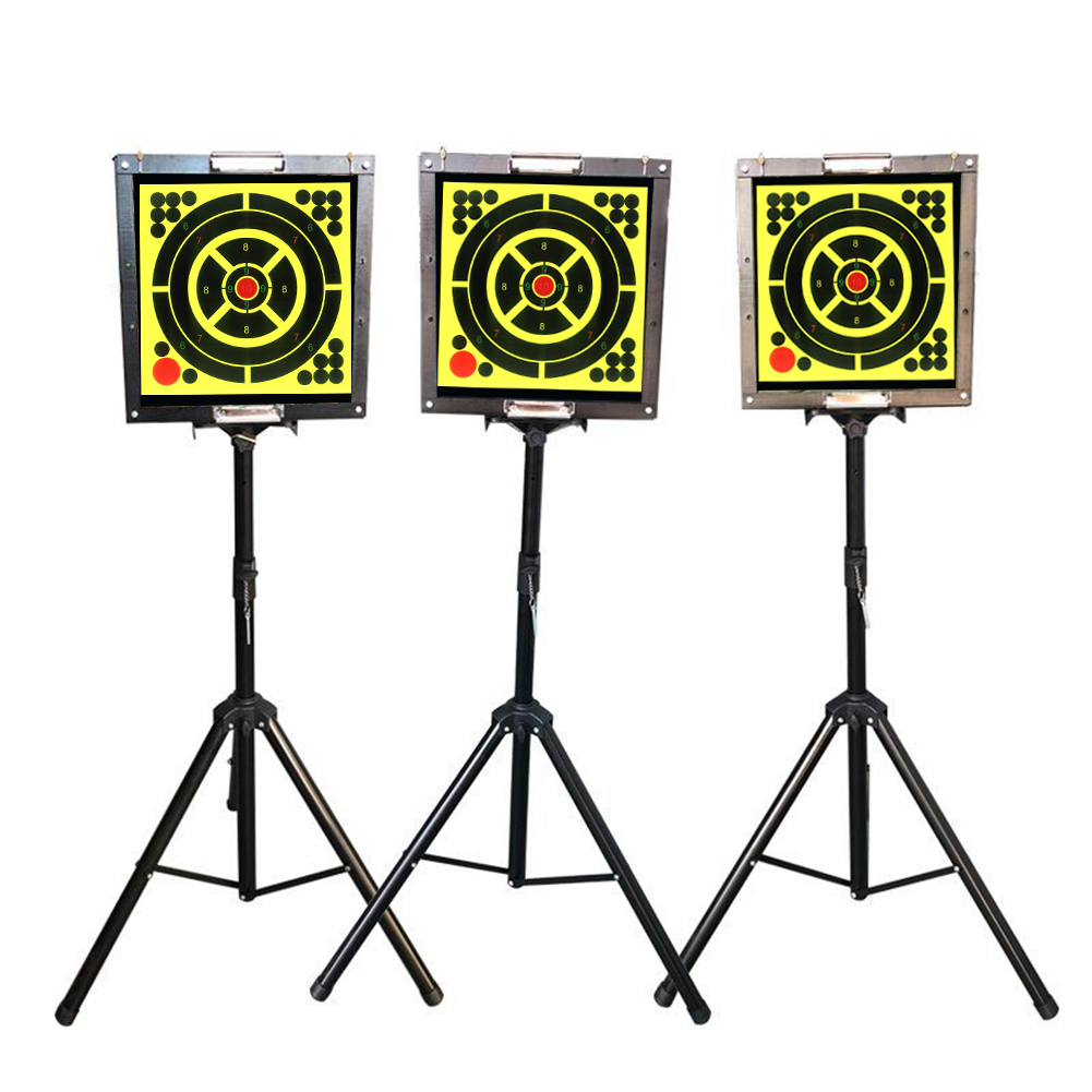 Adhesive Shooting Targets Reactive Splatter Paper Target Sticker Round Outdoor Indoor Shooting Sport Traning Targets Sticker