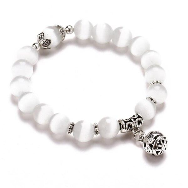 Классический Набор браслетов «Древо жизни» для женщин, многослойный винтажный браслет из натурального камня в виде листьев, браслеты и браслеты, ювелирные изделия, подарки - Окраска металла: 7631