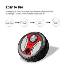 Автомобильные аксессуары для шин автомобильные колеса насос для шин автомобильный воздушный насос Компрессор Электрический портативный Авто 12 В вольт 260 фунтов/кв. дюйм