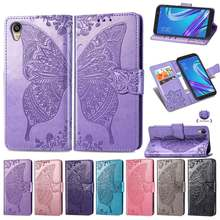 Flip Case For Asus ZenFone Live L1 ZA550KL 5.5 3D Butterfly PU Leather Cover Phone Case For ASUS ZA550KL ZA ZA550 KL X00RD Case(China)