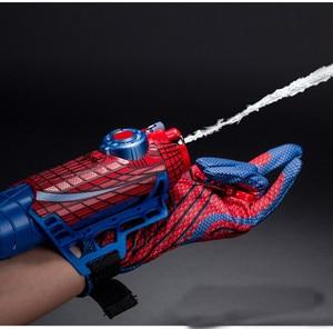 Image 5 - Spider man คอสเพลย์ mega blaster ถุงมือ Launchers PVC Action Figure Collection รุ่น Toy (Spider Shot Web ของเหลวไม่มีกล่อง)
