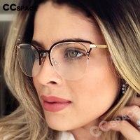 Przezroczyste okulary unisex