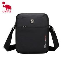 OIWAS-Bolso cruzado impermeable de alta calidad para hombre, Mini bolsas de hombro de negocios, bandolera de viaje, bolsos informales