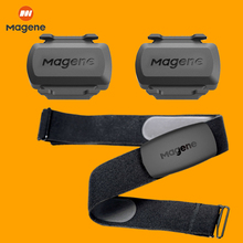 MAGENE Speedometer Wireless Computer ANT+ Bluetooth Bicycle Speed Cadence Sensor Heart