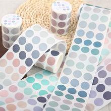 60mm x 3m elemento base decorativo fita adesiva cor grande dot washi fita diy scrapbooking washi etiqueta memo deco papelaria