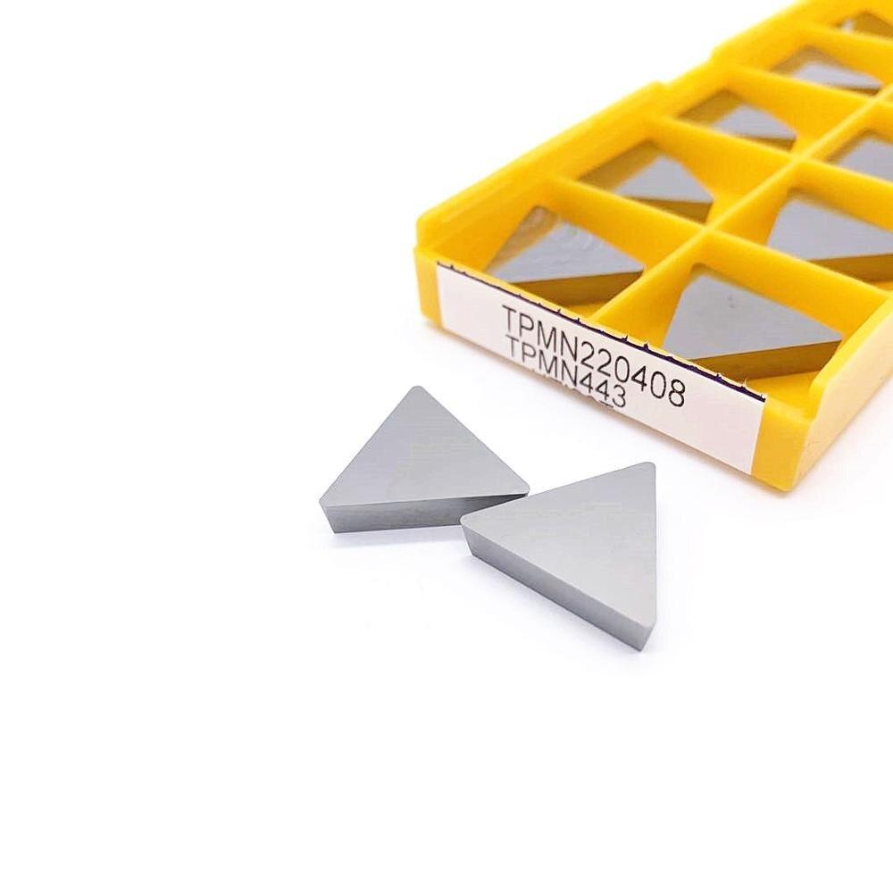 Milling Inserts TPMN220408 TPMN220412 TPMN 220408 220412 UTi20T Lathe Turning Tool CNC Inserts Lathe Parts