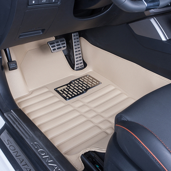 Best Promo 7xj4e 5d Pu Leather Car Floor Mat Waterproof Wear