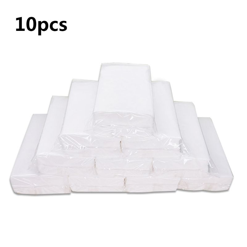 10Pcs Silky Smooth Soft Premium 46 Sheets/Bag Toilet Paper Kitchen Tissues Bath Tissue Kitchen Bedroom Cleaning Paper Towels