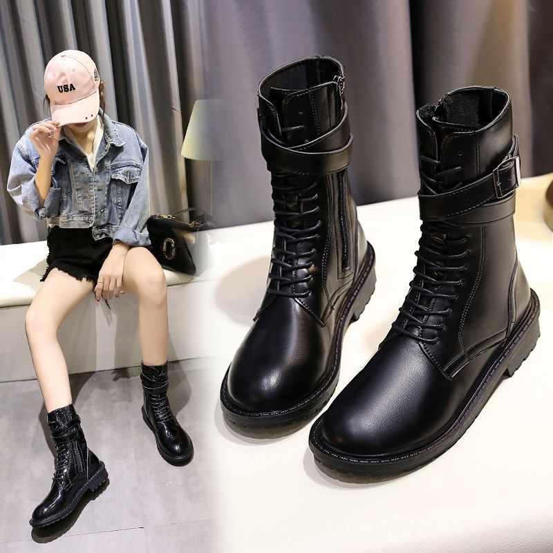 Байкерские ботинки принцесс