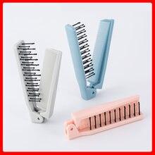 Складная дорожная расческа cc021 для вьющихся волос Массажная