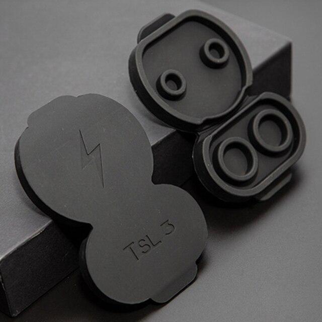 2021 neue Silikon Lade Port Wasserdichte Staubdicht Schutz Abdeckung für Tesla Modell 3