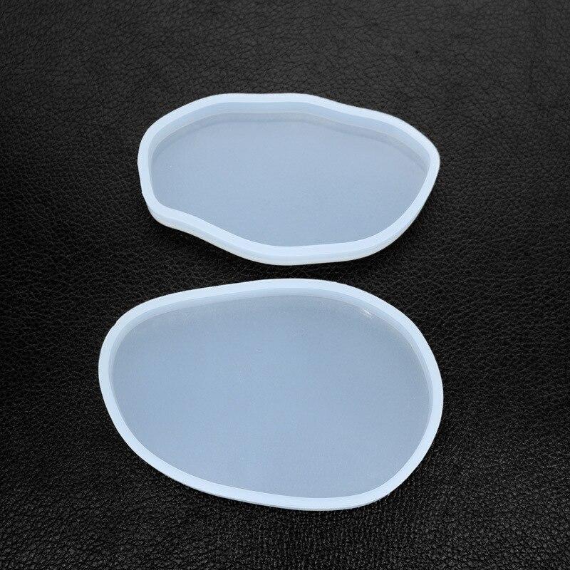 Irregular Geometric Coaster Silicone Mold Make Your Own Coaster Epoxy Resin Art Supplies Fluid Arts Silicone DIY Tray