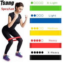 Faixa elástica para fitness bandas de borracha resistência bandas yoga alongamento esporte loop exercício treino bandas elásticas faixa de energia