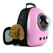 Breathable Astronaut Space Capsule Expansion Mesh Backpack Travel Outdoor Pet Dog Cat Puppy Carrier Bag 517D