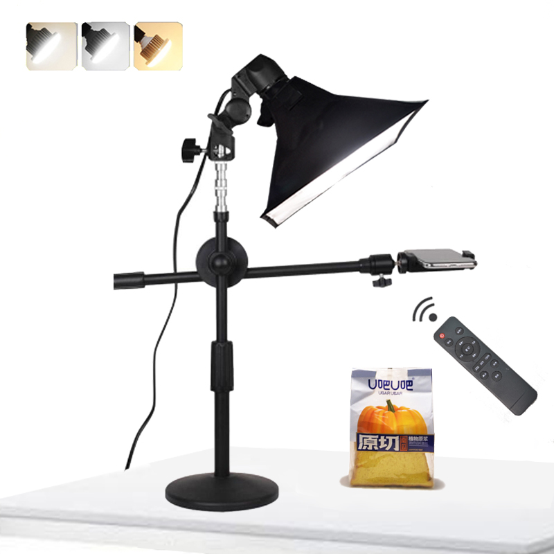 Pair of Photography Studio Continuous Lighting Kit With 80cm Light Tent