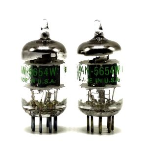 Image 4 - Hoa Kỳ Mới GE 5654W Ống Nâng Cấp 6J1 / 6m1 / EF95 / 403A / 6AK5 / 403B / CV4010