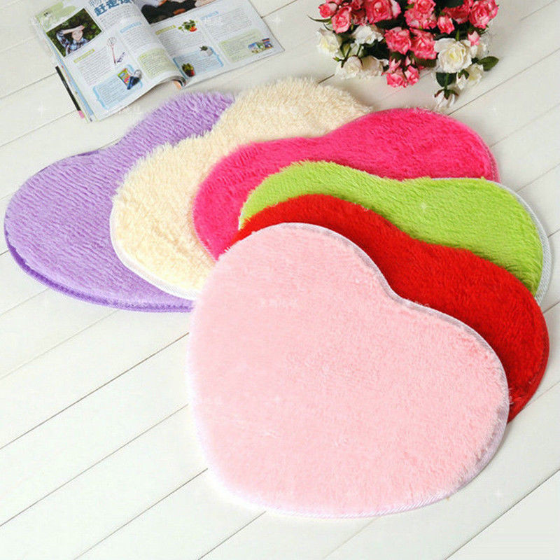 Fluffy Anti-Skid Anti-slip Shaggy Area Floor Mat Carpet Room Carpet Runner Baby Child Kid Playmat