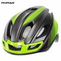 PHMAX Pro Road Fahrrad Helme Mit Zurück Licht Männer Frauen Integral Geformte Fahrrad Helm Mountain Road Bike Radfahren MTB Helme