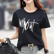 Summer 2020 Women Printed Women T-shirts Casual RED Floral Tshirt Sexy Girls T-s