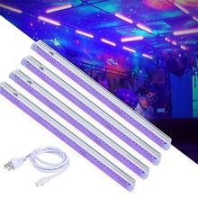UV czarne światła z pilotem światła dj-skie oświetlenie baru scenicznego wesele strona główna klej UV zestalone światło ultrafioletowe tanie tanio LemonBest Ultraviolet Lamps 110-240 v Magic Ball Lamp 50000h Lampy ultrafioletowe 1 year