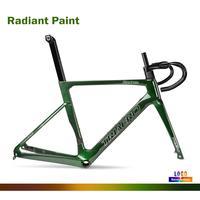 Ciclismo peças da bicicleta quadro de bicicleta de estrada de carbono quadro camaleão quadro + garfo + selim headeset braçadeira xdb frete grátis disponível