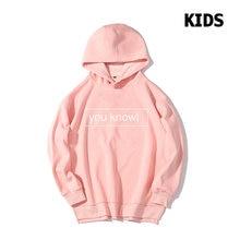 Детские толстовки с капюшоном «you know» осенне зимняя детская